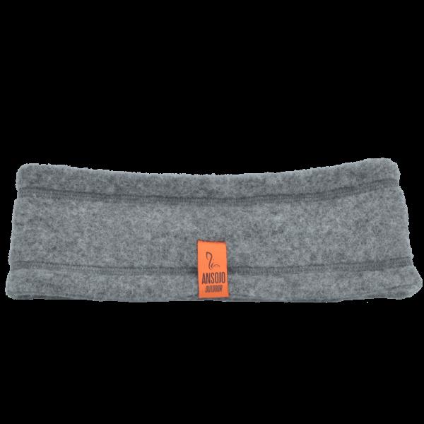 Wollfleece-Stirnband, kbT, GOTS, schlicht