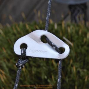 Dreiloch-Zeltleinenspanner