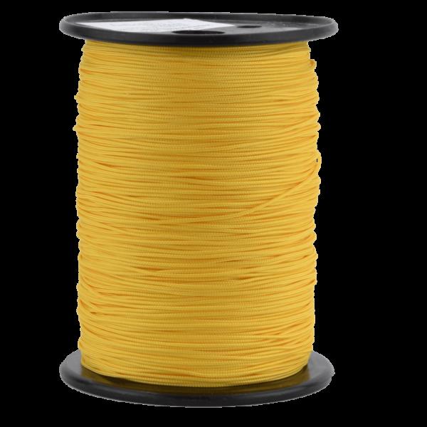 Zeltleine scheuerfest, 1,7 mm, gelb