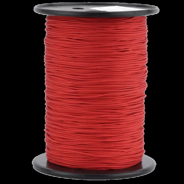 Zeltleine scheuerfest, 1,7 mm, rot