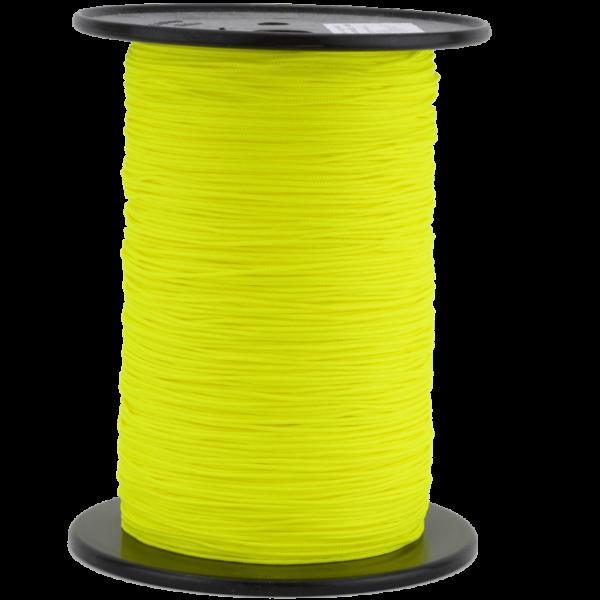 Zeltleine scheuerfest, 1,8 mm, neongelb