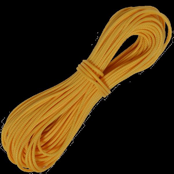 Zeltleine scheuerfest, 2,5 mm, 25 m, gelb