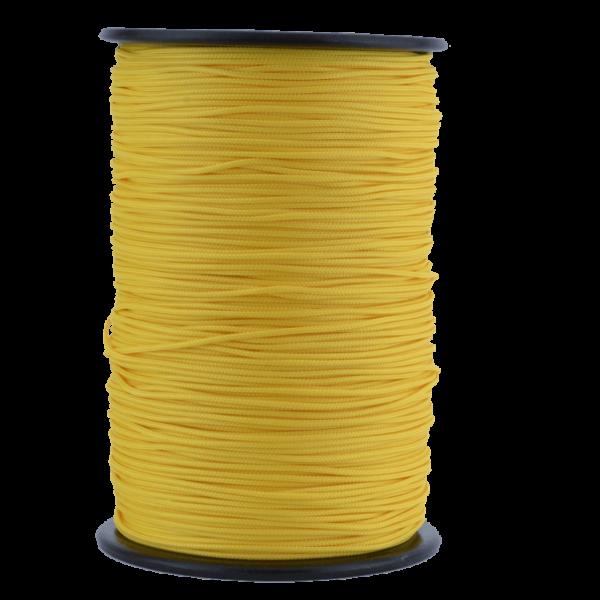 Zeltleine scheuerfest, 2,5 mm, gelb