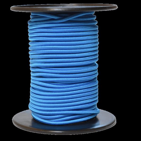 Gummiseil 5 mm, blau
