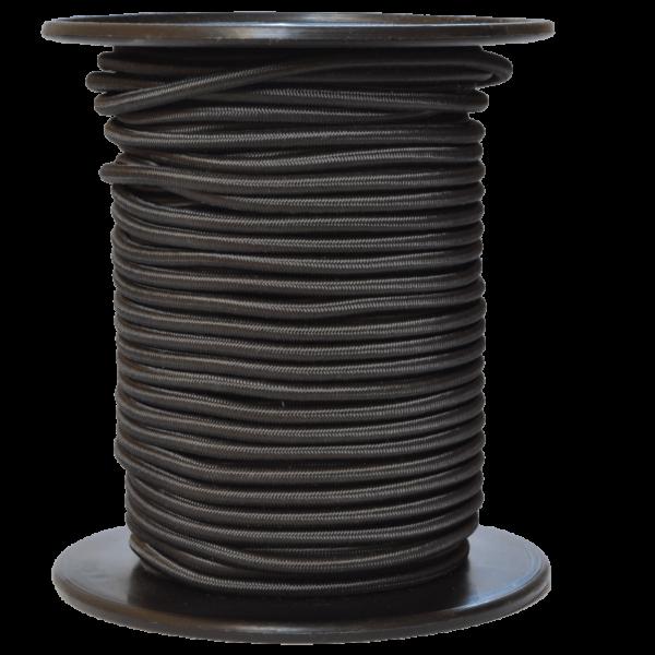 Gummiseil 5 mm, schwarz